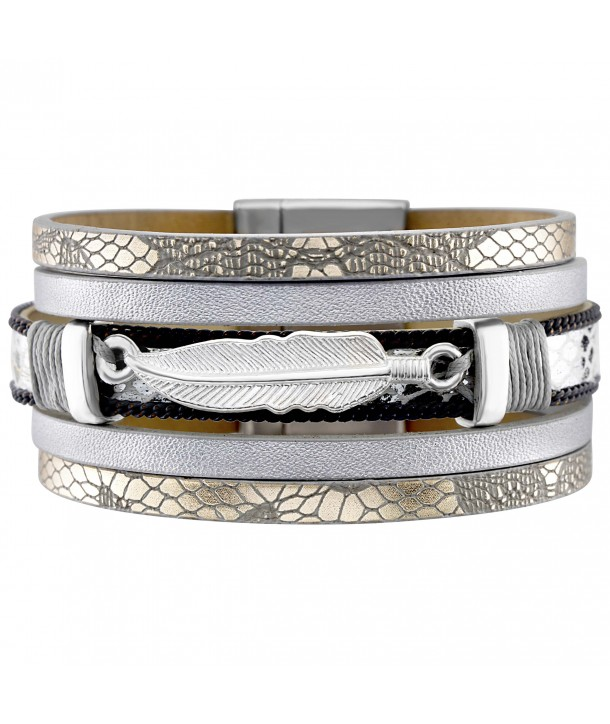 BRACELET - INDIANO PEARLY GREY