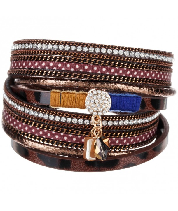 BRACELET - PERITIS BROWN