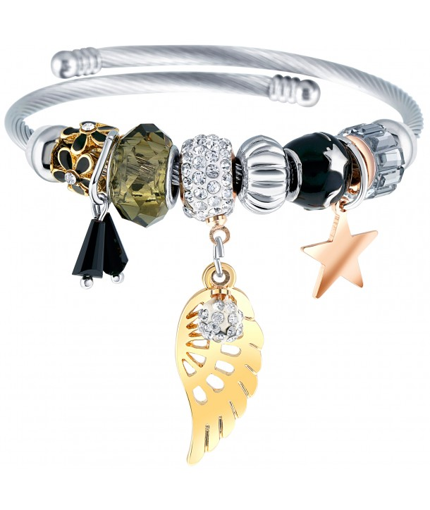BRACELET - FLY & STAR ALL GOLD