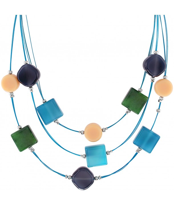COLLIER - CANDY BLUE