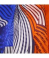 ETOLE - JUNGLE LEEF BLUE & ORANGE
