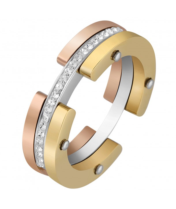 BAGUE - AURORA ALL GOLD