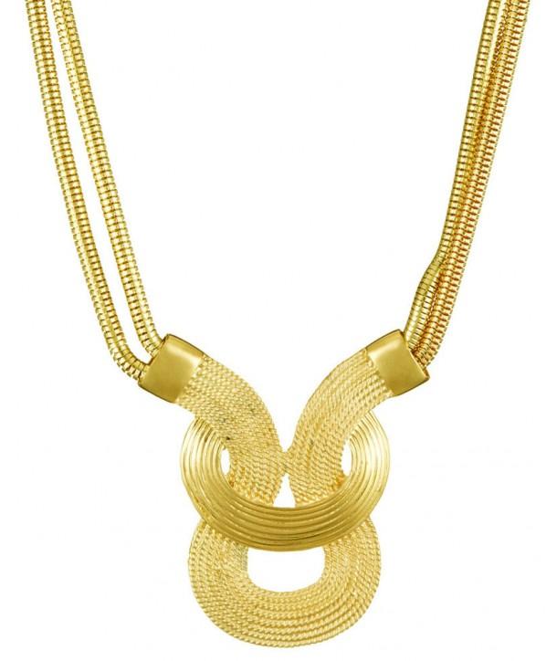 COLLIER - SALVIA GOLD