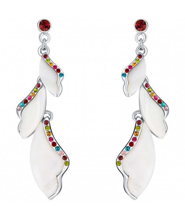 BOUCLES D'OREILLES - NATURE COLOR SILVER