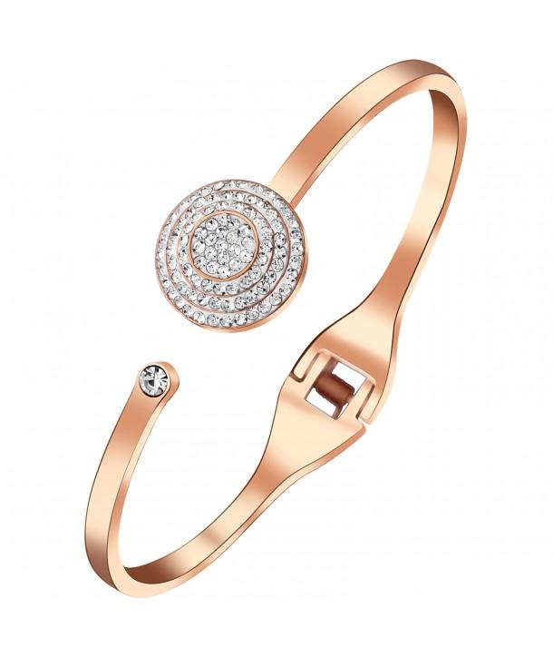 BRACELET - SOLAR STEEL PINK GOLD