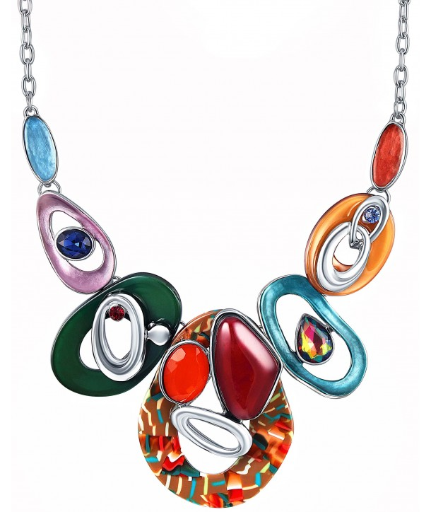 COLLIER - CORCOVAL COLOR SILVER