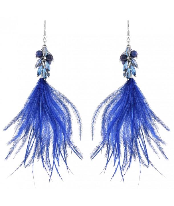 BOUCLES D'OREILLES - REVOL BLUE