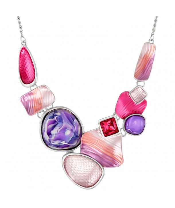 COLLIER - GALICE FUCHSIA