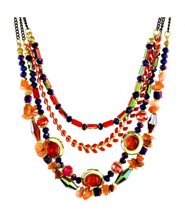 COLLIER - ALFOMBRIL PURPLE RED