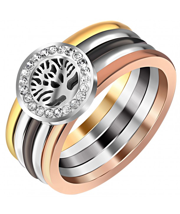 BAGUE - EVASTEEL ALL GOLD