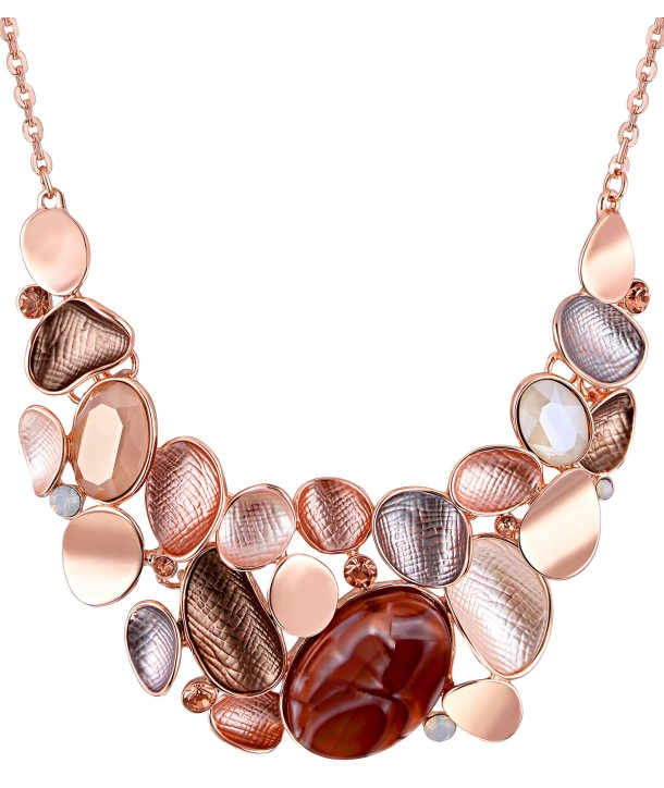 COLLIER - ALCADER PINK GOLD