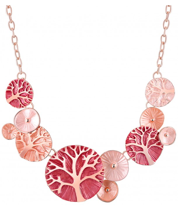 COLLIER - EVENAL PINK CORAL
