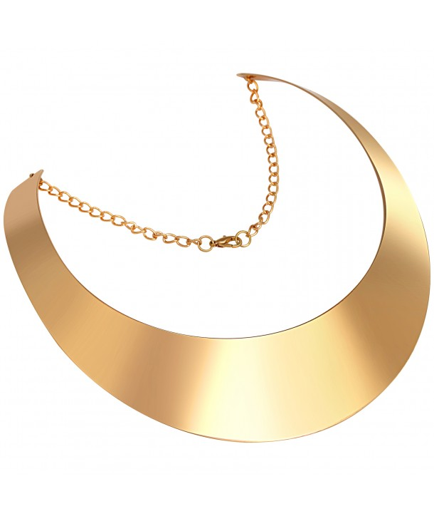 COLLIER - CIRCLE GOLD