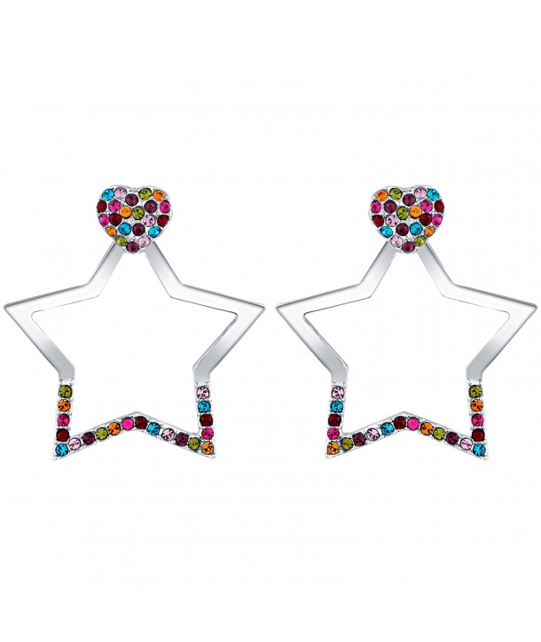 BOUCLES D'OREILLES - LOVING STELLA COLOR SILVER