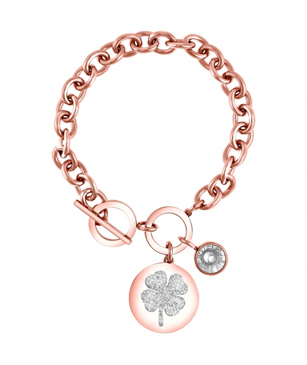 BRACELET - LUCKY CHANCE PINK GOLD