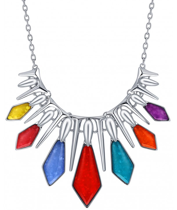 COLLIER - SOLAL COLOR SILVER