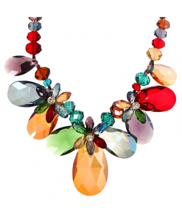 COLLIER - CATHERINE CRYSTAL COLOR